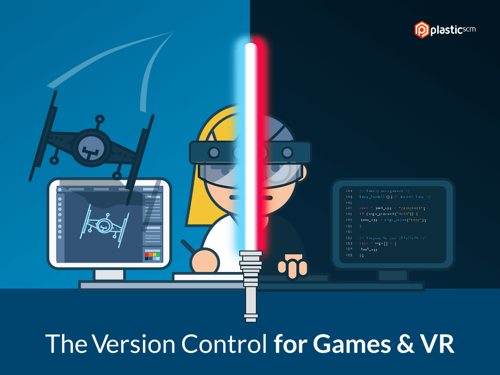 Version Control for Games and VR